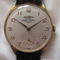 Relojes de pulsera: RELOJ DE CUERDA AÑOS 50 DOGMA PRIMA GRANDE . Lote 177587473