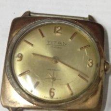 Relojes de pulsera: RELOJ TITAN 17 RUBIS SWISS MADE. Lote 177734039
