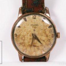 Relojes de pulsera: RELOJ DE PULSERA MASCULINO DUWARD ORLY - ANTIMAGNETIC - CAJA CHAPADA EN ORO - 17 JEWELS. Lote 177766929