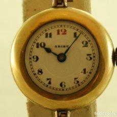 Relojes de pulsera: RELOJ TRINCHERA MILITAR AÑOS 20/30 ESFERA PORCELANA. Lote 177808190