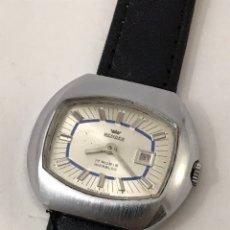 Relojes de pulsera: RELOJ REIXDER CALENDARIO CARGA MANUAL VINTAGE 33,6 MM. Lote 177841179