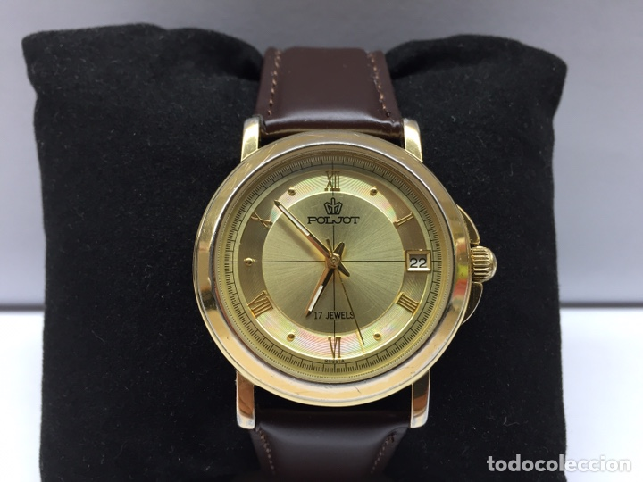 Relojes de pulsera: Reloj Poljot Caballero Carga Manual 17 jewels - Foto 2 - 177883098