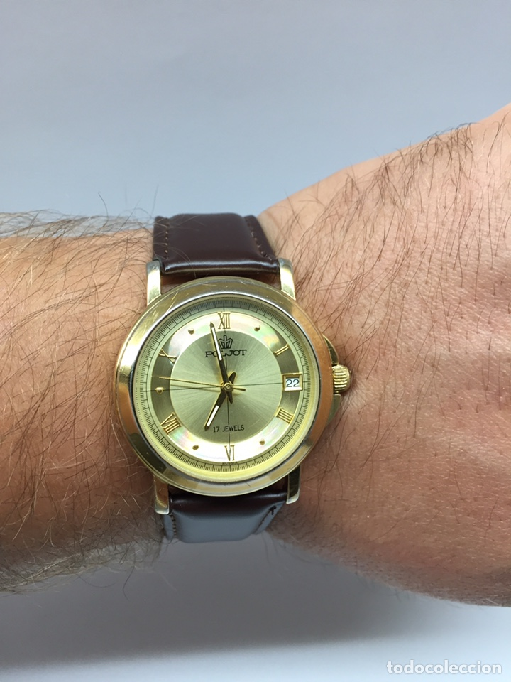 Relojes de pulsera: Reloj Poljot Caballero Carga Manual 17 jewels - Foto 12 - 177883098