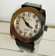 Relojes de pulsera: RELOJ OLIVIA DE CUERDA VINTAGE . Lote 177893369