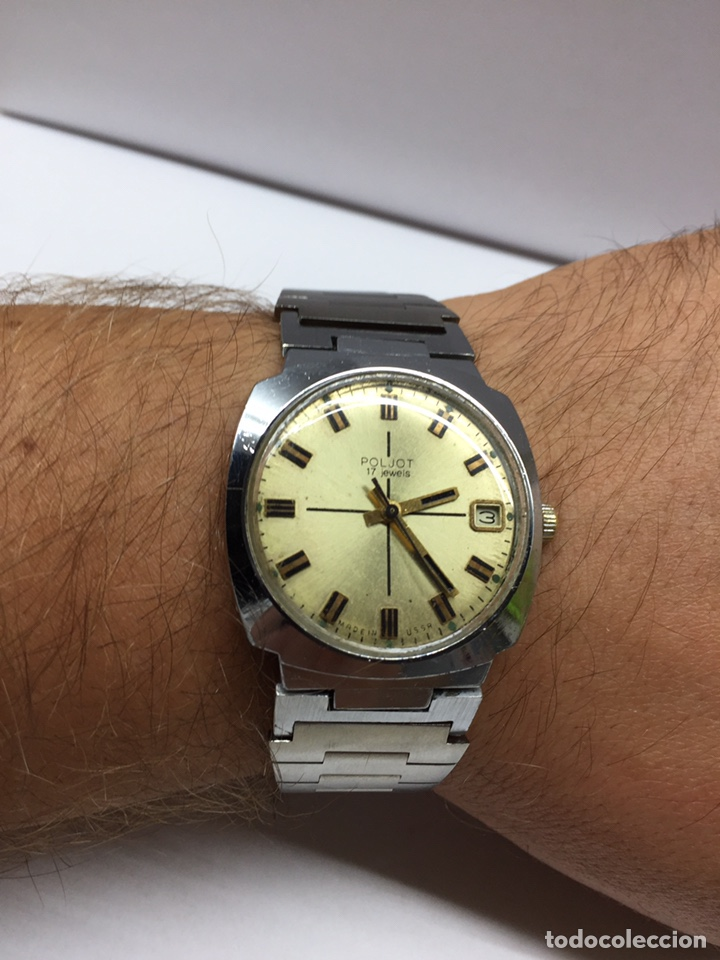Relojes de pulsera: Reloj Poljot USSR Caballero Carga Manual - Foto 6 - 177960767
