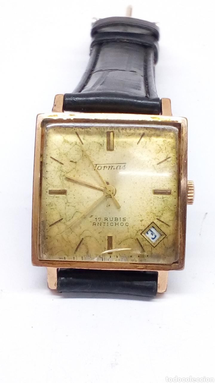 Relojes de pulsera: Reloj Tormas carga manual - Foto 2 - 177989123