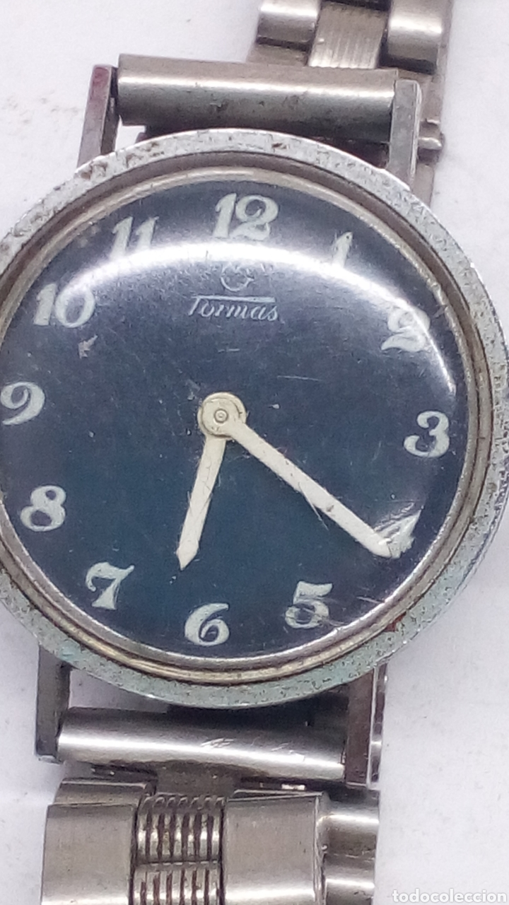 Relojes de pulsera: Reloj Tormas carga manual para piezas - Foto 2 - 178059435