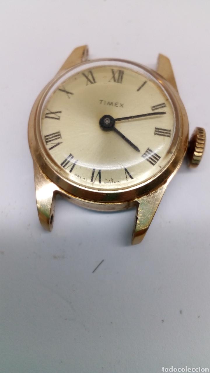 Relojes de pulsera: Reloj Timex carga manual para pieza - Foto 3 - 178127814