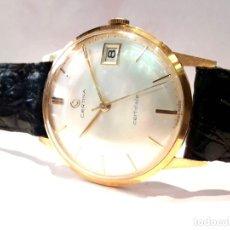 Relojes de pulsera: RELOJ CERTINA MODELO CERTIDATE EN ORO DE LEY AÑOS 60 CARGA MANUAL Y TOTALMENTE NUEVO. Lote 178183147