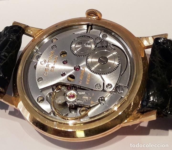 Relojes de pulsera: RELOJ CERTINA MODELO CERTIDATE EN ORO DE LEY AÑOS 60 CARGA MANUAL Y TOTALMENTE NUEVO - Foto 5 - 178183147
