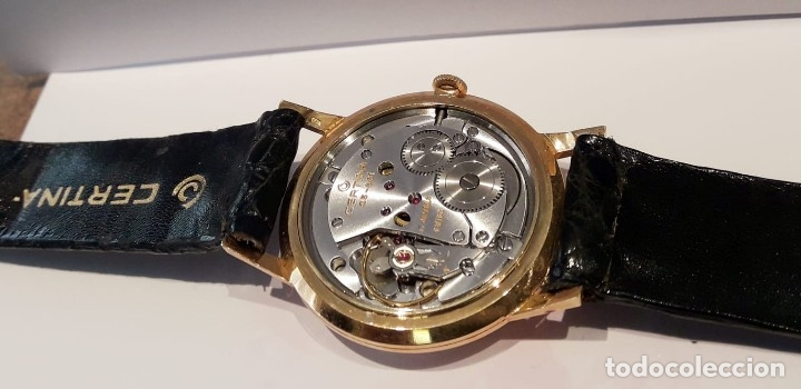 Relojes de pulsera: RELOJ CERTINA MODELO CERTIDATE EN ORO DE LEY AÑOS 60 CARGA MANUAL Y TOTALMENTE NUEVO - Foto 6 - 178183147