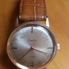 Relojes de pulsera: RELOJ SANDOZ 17 RUBIS CARGA MANUAL.. Lote 178360693