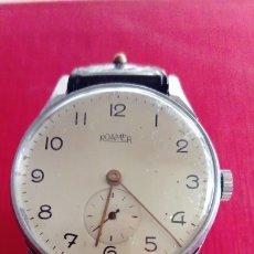 Relojes de pulsera: ANTIQUÍSIMO RELOJ ROAMER CAJA ACERO INOX. Lote 203231246