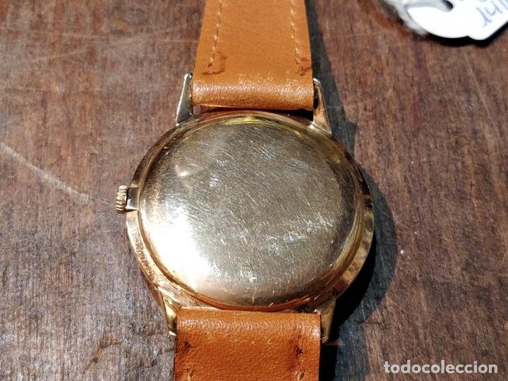 Relojes de pulsera: RELOJ CUERDA MANUAL CABALLERO CYMA - CYMAFLEX - ORO. - Foto 11 - 117116907