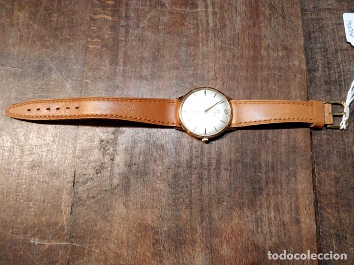 Relojes de pulsera: RELOJ CUERDA MANUAL CABALLERO CYMA - CYMAFLEX - ORO. - Foto 12 - 117116907