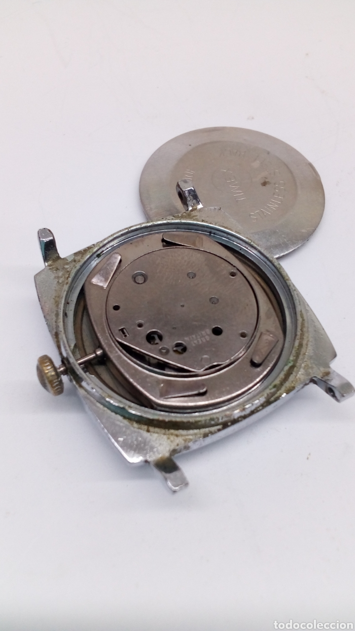 Relojes de pulsera: Reloj Timex carga manual para piezas - Foto 2 - 178445680