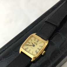 Relojes de pulsera: RELOJ FRINE 17 RUBÍS CHAPADO DE ORO CARGA MANUAL COMO NUEVO. Lote 178728815