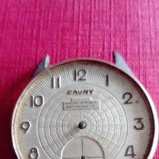 Relojes de pulsera: RELOJ CAUNY DE 38 MM PARA RECAMBIOS O REPARACIÓN. Lote 178757677