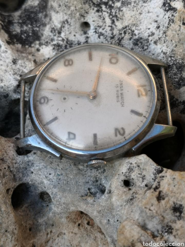 Relojes de pulsera: C1/5 Reloj JNSA Watch vintage PIEZAS - Foto 4 - 178826763