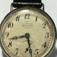 Relojes de pulsera: RELOJ TORMAS REGÍA CARGA MANUAL MAQUINARIA SWISS VINTAGE. Lote 178900560