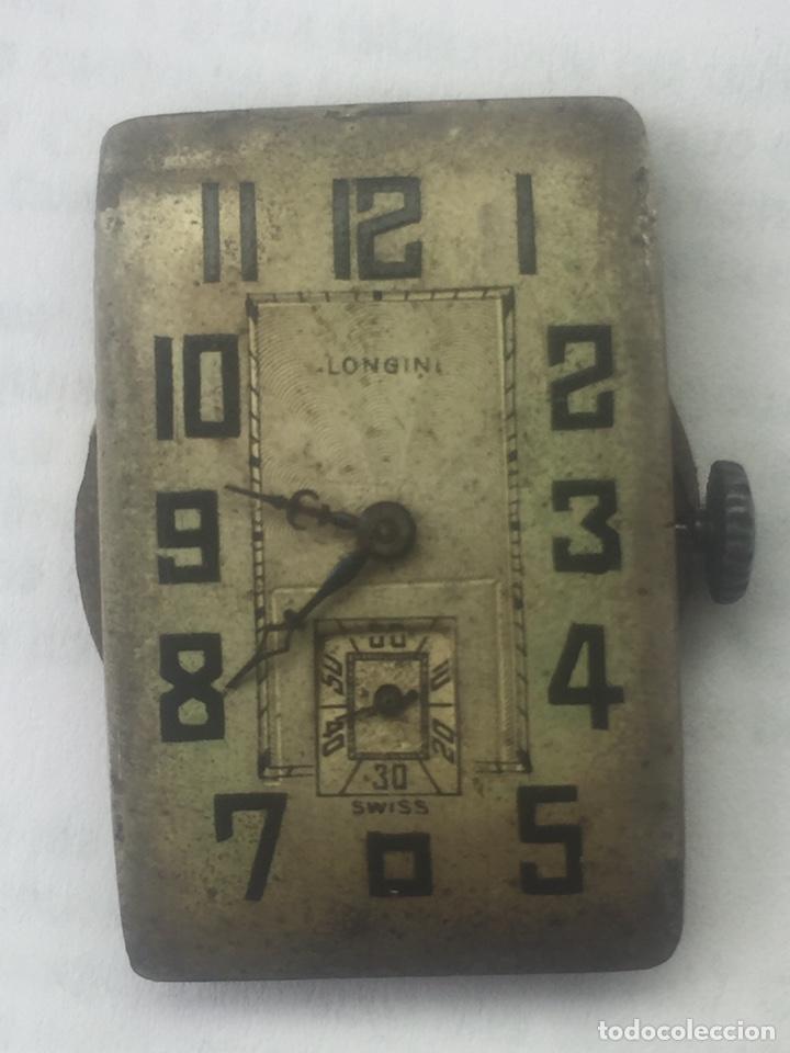 ANTIGUA MAQUINARIA DE RELOJ (SOLO MÁQUINA) (Relojes - Pulsera Carga Manual)