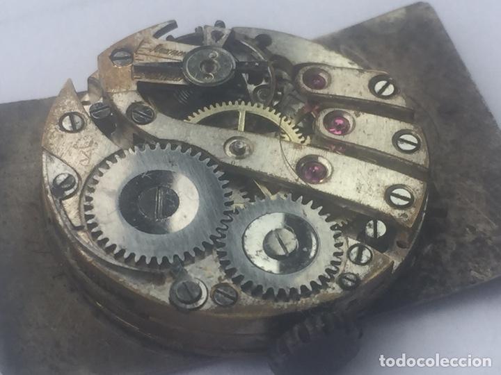 Relojes de pulsera: Antigua maquinaria de reloj (solo máquina) - Foto 8 - 152539412