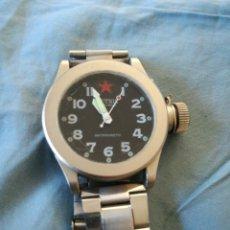 Relojes de pulsera: RELOJ MECANICO MARCA RUSA SPUTNIK TIPO DIVER. Lote 178926402