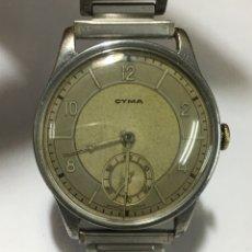 Relojes de pulsera: RELOJ CYMA CARGA MANUAL CAJA DE ACERO MAQUINA SWISS REF 234 VINTAGE. Lote 178944981