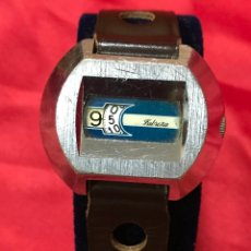 Relojes de pulsera: RARO RELOJ CUERDA MANUAL ANALOGICO DIGITAL MARCA FABREZA, FUNCIONANDO BIEN. Lote 178980910