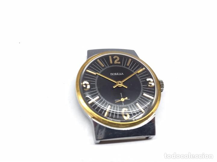Relojes de pulsera: Reloj USSR POBEDA CARGA MANUAL - Foto 2 - 178989983