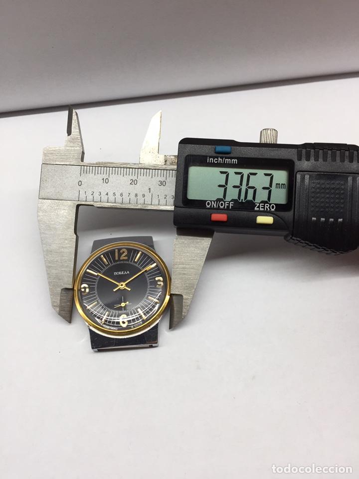 Relojes de pulsera: Reloj USSR POBEDA CARGA MANUAL - Foto 9 - 178989983