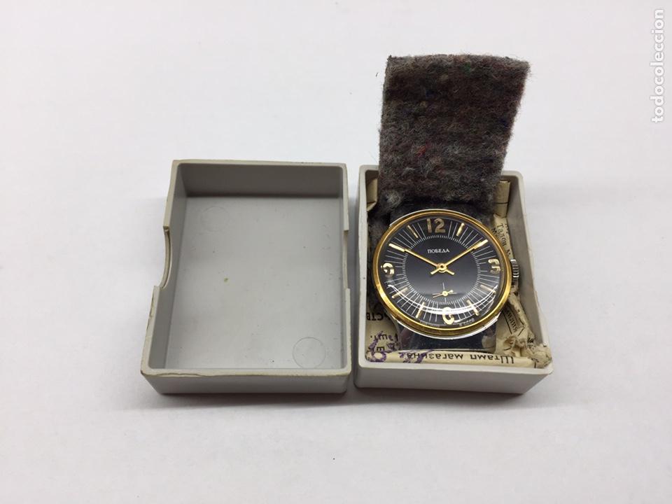 RELOJ USSR POBEDA CARGA MANUAL (Relojes - Pulsera Carga Manual)