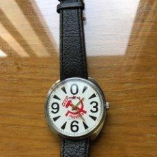 Relojes de pulsera: ANTIGUO RELOJ DE CUERDA RUSO RAKETA. Lote 179010007