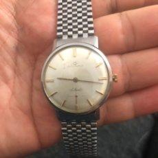 Relojes de pulsera: RELOJ MOVADO CAJA ACERO EN MUY BUEN ESTADO FUNCIONA PERFECTAMENTE- VER LAS FOTOS. Lote 179119956