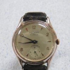 Relojes de pulsera: BONITO RELOJ MILITAR DE PULSERA PARA HOMBRE DE CARGA MANUAL MARCA MEDANA ,FUNCIONA, AÑOS 40. Lote 179148596