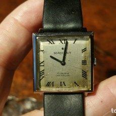 Relojes de pulsera: ANTIGUO RELOJ RADIANT 17 RUBIS INCABLOC FUNCIONANDO. Lote 179176175