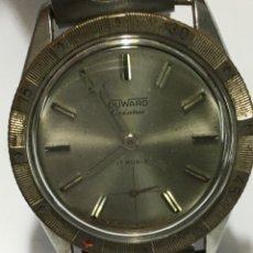 Relojes de pulsera: MAGNÍFICO RELOJ CABALLERO DUWARD OCEANIC AS 1130 PRIMERA VERSIÓN SWISS MADE AÑOS 60 CORONA GIRATORIA. Lote 179191475