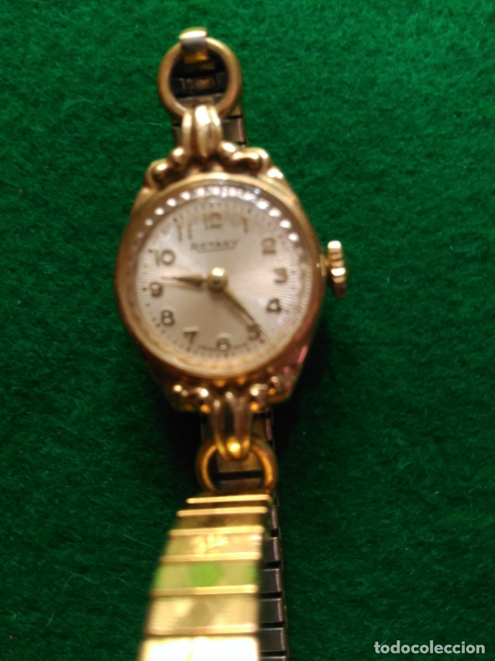 Relojes de pulsera: MAGNIFICO RELOJ ORO MACIZO 9 KT. MUJER ROTARY PERFECTO ESTADO FUNCIONAL Y ESTETICO 395,00 € - Foto 3 - 180092723