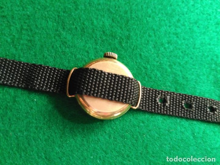 Relojes de pulsera: VINTAGE RELOJ ORO MACIZO DE 9 KT. SEKONDA 17 JOYAS FUNCIONANDO USSR - Foto 2 - 180099145