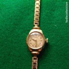 Relojes de pulsera: PRECIOSO RELOJ ROTARY VINTAGE 17 JOYAS BAÑO DE ORO FUNCIONANDO Y MUY BUEN ESTADO. Lote 180100072