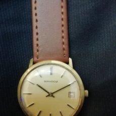 Relojes de pulsera: CLÁSICO RELOJ SANDOZ CARGA MANUAL. Lote 180228171