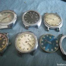 Relojes de pulsera: 6 RELOJES MECANICOS RUSOS SLAVA PARA PIEZAS. Lote 180252687