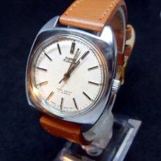 Relojes de pulsera: RELOJ VINTAGE - MARCA HMT -MODELO KOHINOOR - DIAL BLANCO- CARGA MANUAL. Lote 180262453