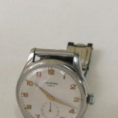 Relojes de pulsera: RELOJ UNIVERSAL A CUERDA DE COLECCION. Lote 180284861