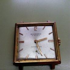 Relojes de pulsera: RELOJ MICONOS CUADRADO PARA PIEZAS O REPARACIÓN . Lote 180391391