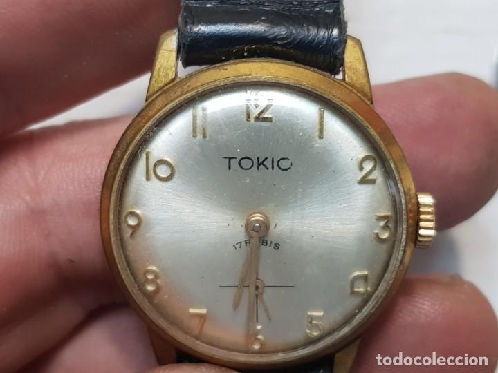 RELOJ CUERDA MANUAL TOKIO 17 RUBIS FUNCIONANDO RARO (Relojes - Pulsera Carga Manual)