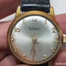 Relojes de pulsera: RELOJ CUERDA MANUAL TOKIO 17 RUBIS FUNCIONANDO RARO. Lote 180392933