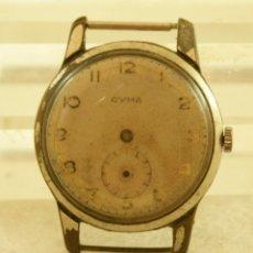 Relojes de pulsera: CYMA MECANICO 37MM CLASICO. Lote 180448448