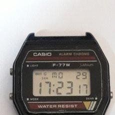 Relojes de pulsera: RELOJ DE PULSERA CABALLERO DIGITAL CASIO F-77 W. Lote 180868022