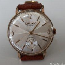 Relojes de pulsera: RELOJ CAUNY PRIMA DE CUERDA. Lote 180932813